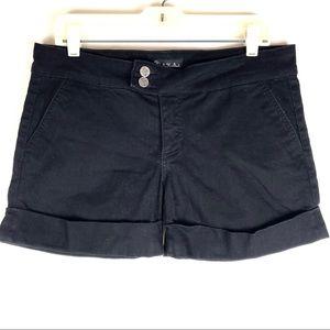 See Thru Soul cuffed denim shorts